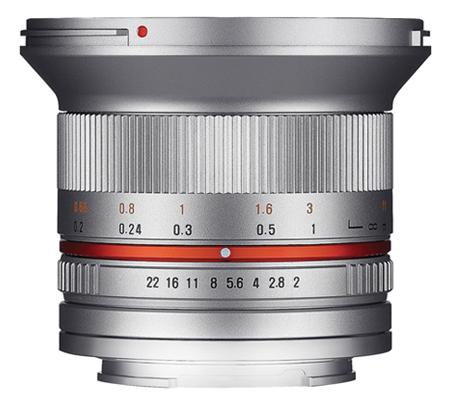 Samyang 12mm f/2.0 NCS CS Lens for Fujifilm X-Mount Silver