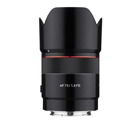 Samyang AF 75mm f/1.8 FE Lens for Sony E