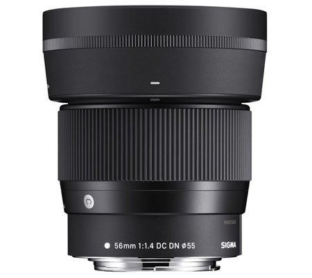 Sigma for Canon EF-M 56mm f/1.4 DC DN Contemporary Lens