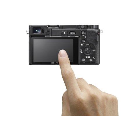 Sony Alpha A6100 Kit 16-50mm Mirrorless Digital Camera Black