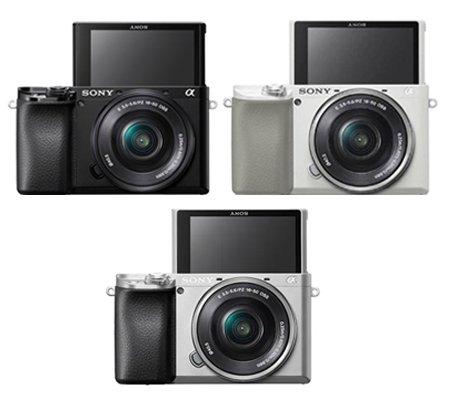 Sony Alpha A6100 Kit 16-50mm Mirrorless Digital Camera Silver