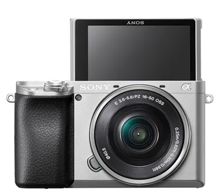 Sony Alpha A6100 Kit 16-50mm Mirrorless Digital Camera Silver