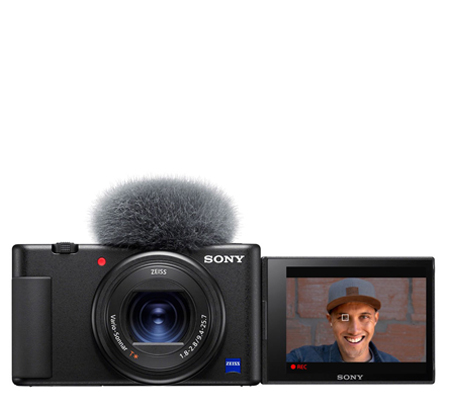 Sony ZV-1 Black Compact Camera