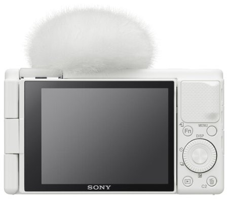 Sony ZV-1 White Compact Camera