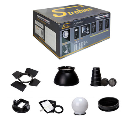 ::: USED ::: Strobies Potrait Kit For Nikon SB 900 (Excellent to Mint)
