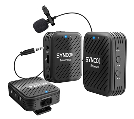 Synco G1-A2 Digital Wireless Microphone System TX+TX+RX for Camera / Smartphone