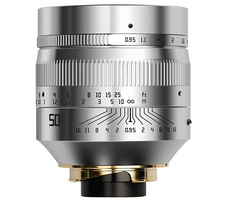 TTArtisan 50mm f/0.95 Lens for Leica M Mount Silver