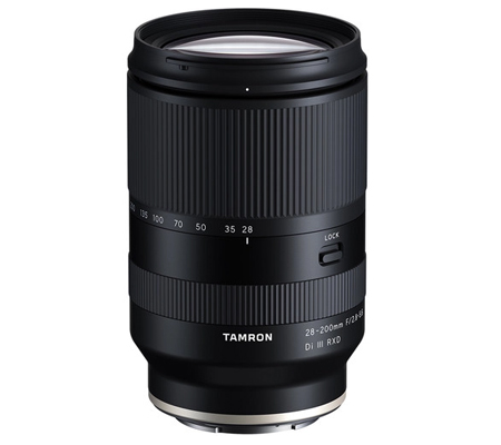 Tamron for Sony E 28-200mm f/2.8-5.6 Di III RXD Lens