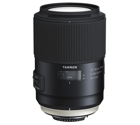 Tamron for Nikon F SP 90mm f/2.8 Di Macro VC USD