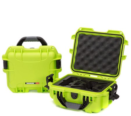 Nanuk 905 - Spark2  Waterproof Hard Case for DJI Spark (Lime)