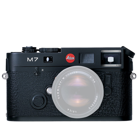 Leica M7 0.72 Black (10503)