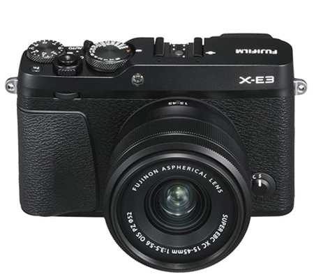 Fujifilm XE3 Kit 15-45mm F/3.5-5.6 Black