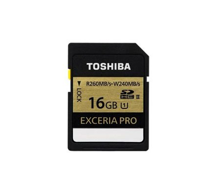 ::: USED ::: Toshiba Exceria Pro 16GB 260Mp/s (Excellent To Mint)
