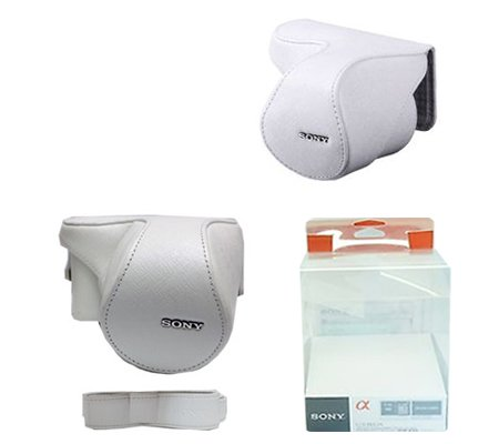 ::: USED ::: Sony LCS-EMB1A Lens Jacket (White) (Excellent)