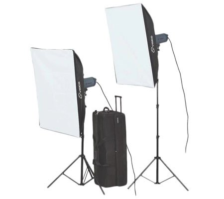 Visico VC-600HH 220V SB Studio Lighting Kit