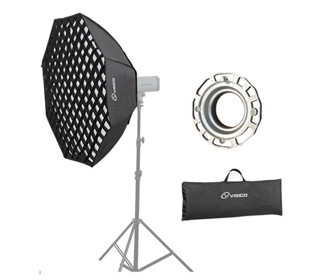 Visico Softbox Octagon with Grid SB-035 120cm