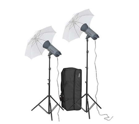 Visico VC-400HH 220V Umbrella KIT Studio Lighting Kit
