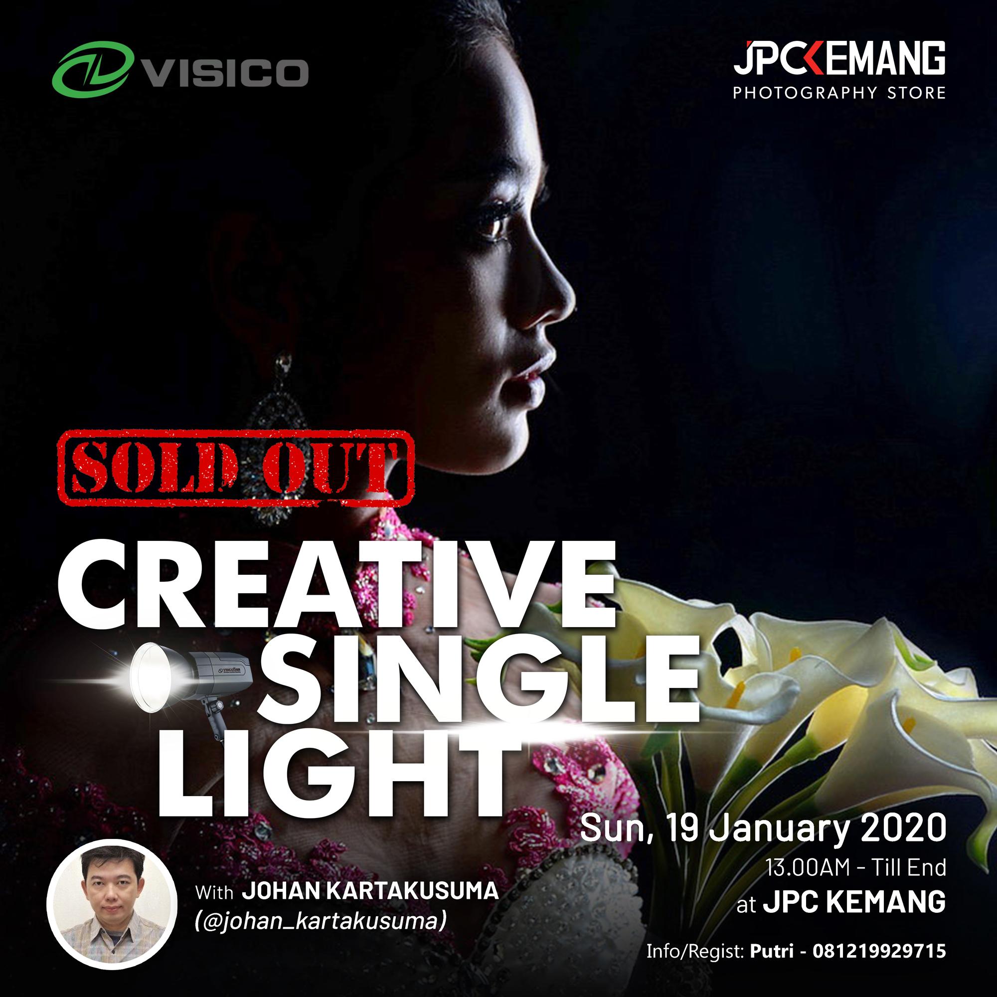 Creative Single Light Workshop