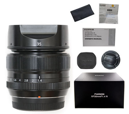 ::: USED ::: Fujifilm XF 35mm F/1.4R WR (Excellent-360) (Reserved)