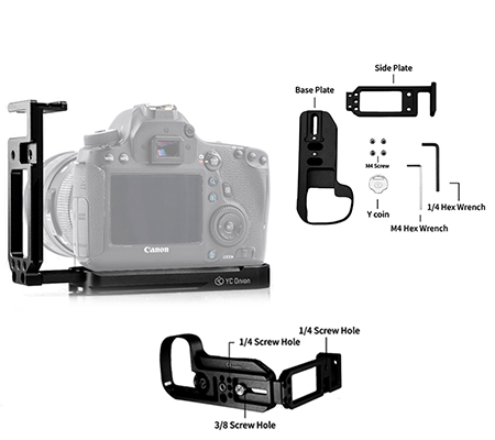 YC Onion L-Plate For Canon 5D IV