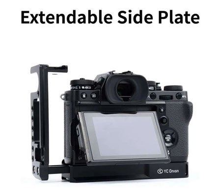 YC Onion L-Plate For Fujifilm XT3