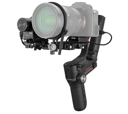 Zhiyun WEEBILL S Handheld Gimbal Stabilizer Complete Set with Follow Focus + VT