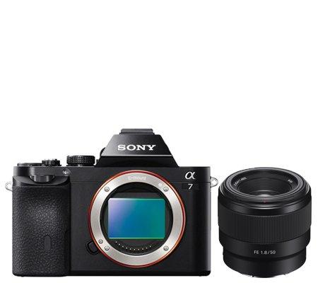 Sony Alpha A7 + FE 50mm f/1.8