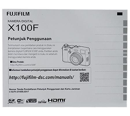 Fujifilm X100F Manual Book