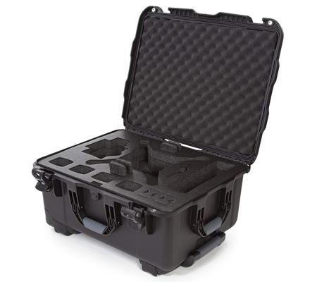 Nanuk 950 Waterproof Hard Case with Foam for DJI Phantom 4/4 Pro/4 Pro+ Black