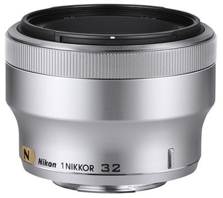 Nikon 1 Nikkor 32mm f/1.2 Silver