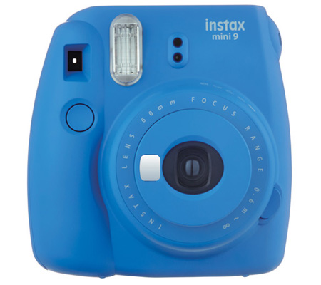Fujifilm Holiday Package Instax Mini 9 Cobalt Blue
