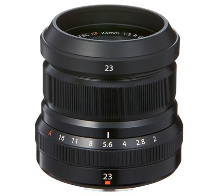 Fujifilm XF23mm f/2 R WR Black
