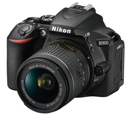 Nikon D5600 kit AF-P DX 18-55mm f/3.5-5.6G VR