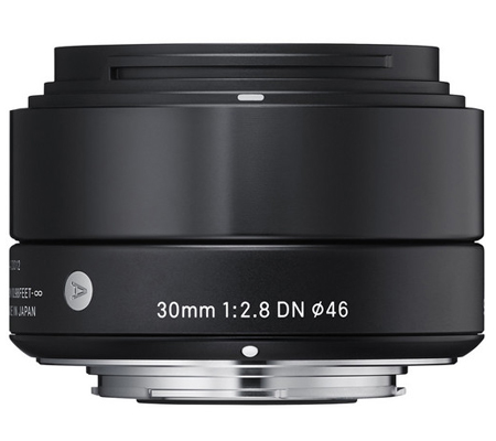 Sigma for Sony E Mount 30mm f/2.8 DN Art (A) Black