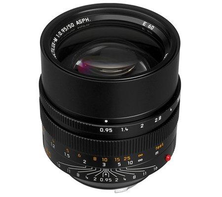 Leica 50mm f/0.95 Noctilux-M ASPH Black (11602)