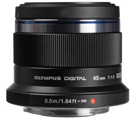 Olympus M.Zuiko Digital 45mm f/1.8 Black