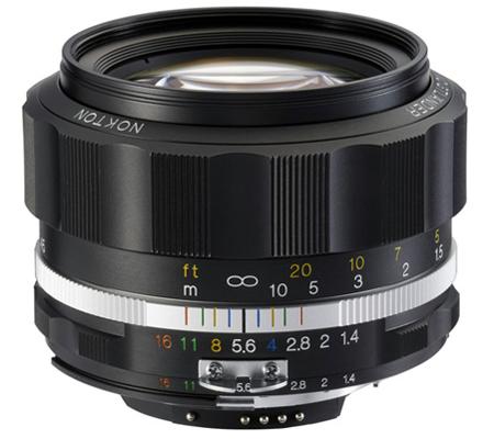 Voigtlander for Nikon Nokton 58mm f/1.4 SL II S Lens Black