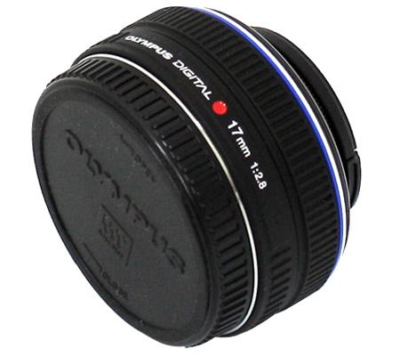 Olympus M.Zuiko Digital 17mm f/2.8 Black