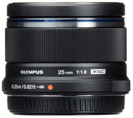 Olympus M.Zuiko Digital 25mm f/1.8 Black