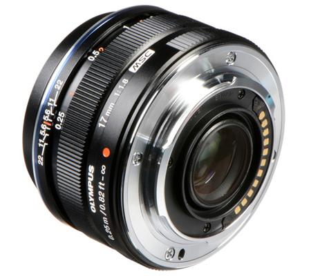 Olympus M.Zuiko Digital 17mm f/1.8 Black