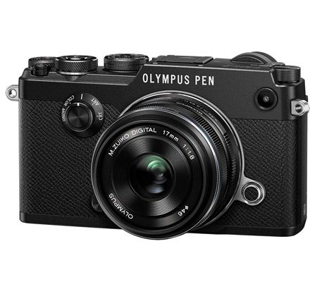Olympus PEN-F Kit M. Zuiko 17mm F/1.8 + M. Zuiko 45mm f1.8 Black