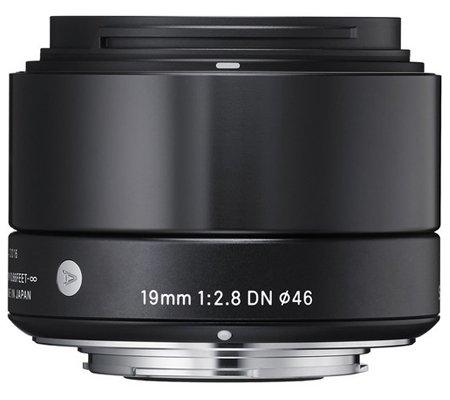 Sigma for Sony E Mount 19mm f/2.8 DN AF Black