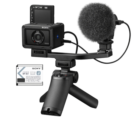 Sony DSC-RX0 II Vlogging Kit Bundle