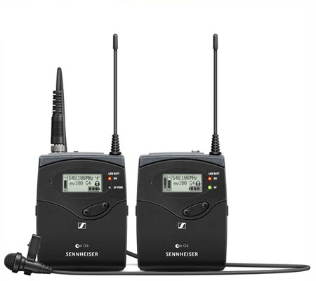 Sennheiser EW 112 P G4 Camera-Mount Wireless Microphone System with ME 2-II Lavalier Mic