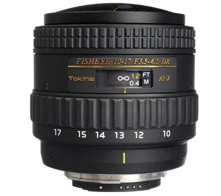 Tokina For Nikon 10-17mm f/3.5-4.5 AT-X 107 AF DX NH
