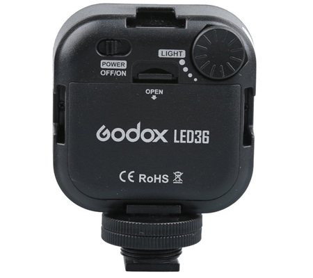 Godox LED 36 Video Lamp Light for Digital Camera Camcorder DV