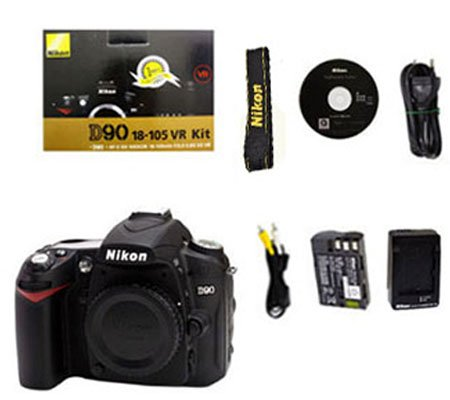 ::: USED ::: Nikon D90 Infrared Body (Excellent To Mint-159)