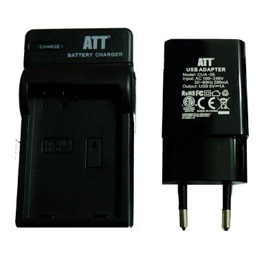 ATTitude DC-NIK-14 Charger for Nikon D7000 / Coolpix P7700