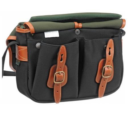 Billingham Hadley Small Black Tan 100% Handmade in England