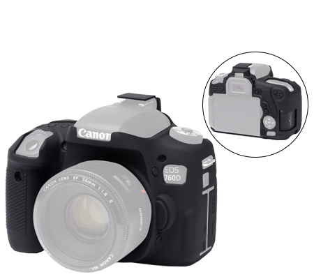Easy Cover for Canon EOS 760D (Black)